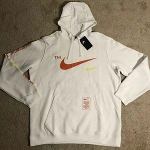 Nike Sportswear Microlbranding pullover hoodie